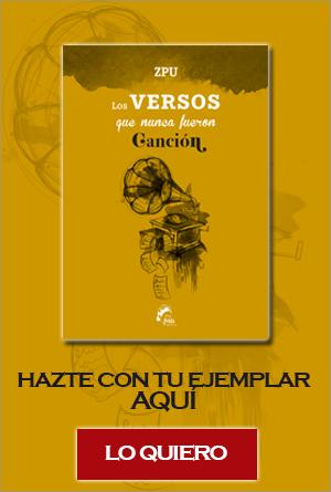 ZPU los versos que nunca fueron canción libro Frida Ediciones fecha 5 febrero compra online